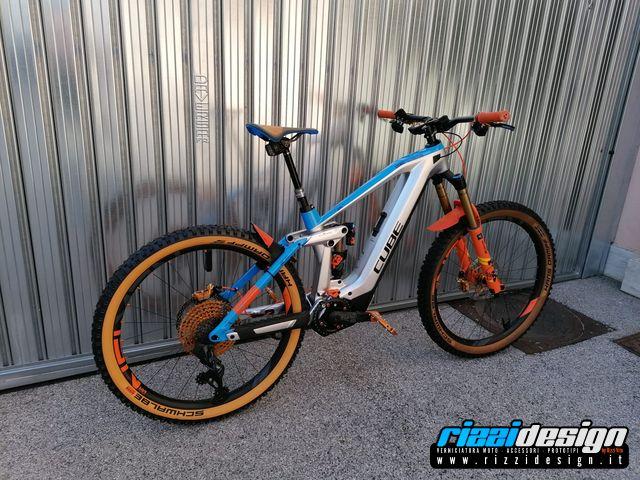 Bici elettrica CUBE by Rizzidesign