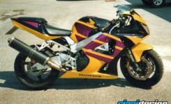 Honda 954 gialla